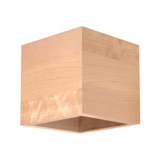 Aplique de pared Quad Madera